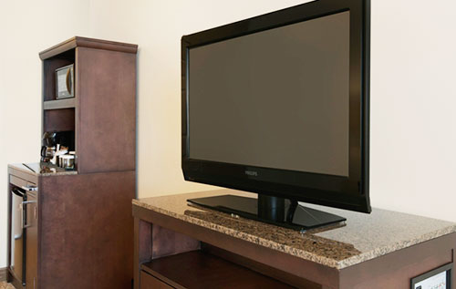 TV with cable network